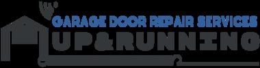 Up & Running Garage Door Official Logo