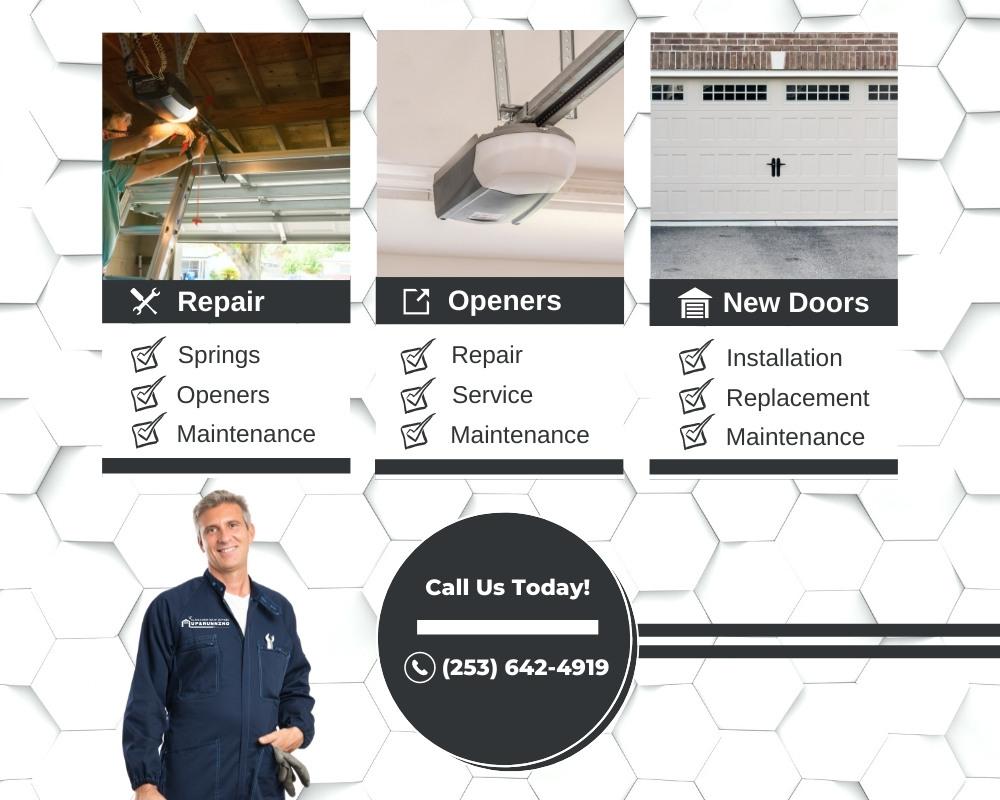 Up & Running - Garage Door Services - Slider